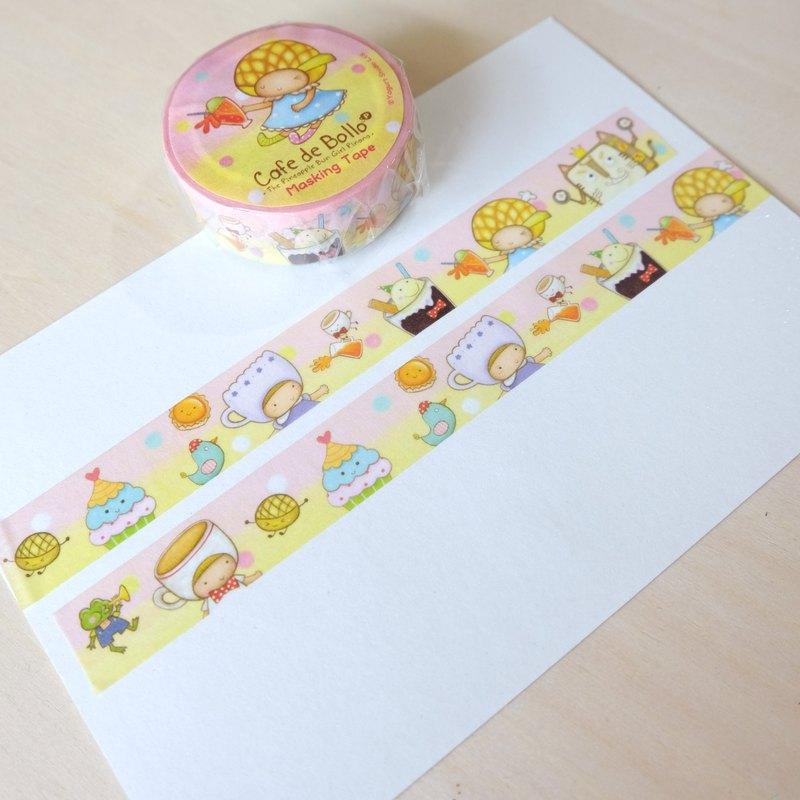 菠蘿油妹妹紙膠帶03