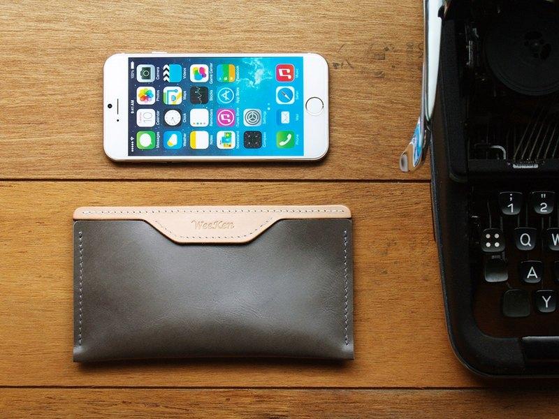 【換季特賣】iPhone 12mini / SE2 手工真皮手機殼套(客製化刻印)
