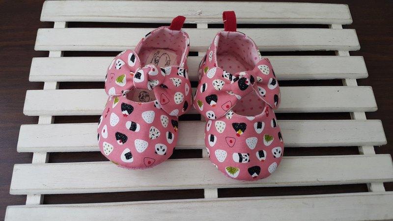 動物飯糰 女孩系寶寶學步鞋(12cm)【SB171203】