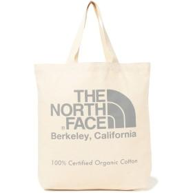 [ビームス] THE NORTH FACE ザノースフェイス バッグ オーガニックコットン トートバッグ メンズ ナチュラルxジンクグレー One Size