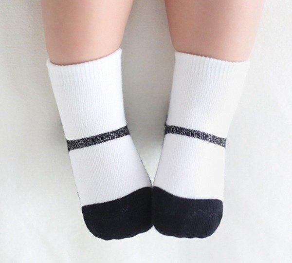 Happy Prince 韓國製 閃耀珍珠瑪莉珍嬰兒襪