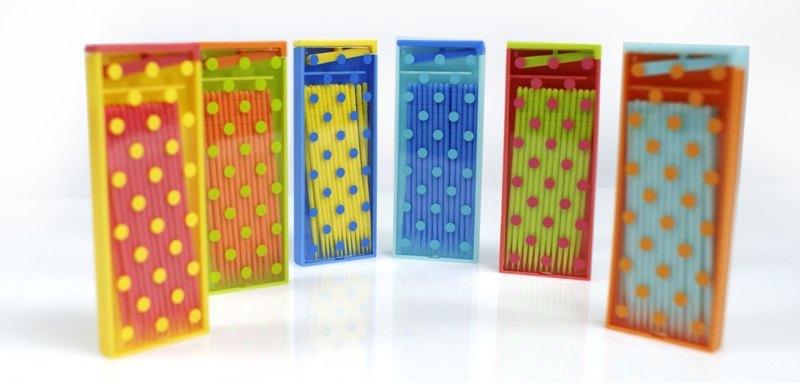 復古隨身型環保PLA牙籤 Retro Toothpick Box