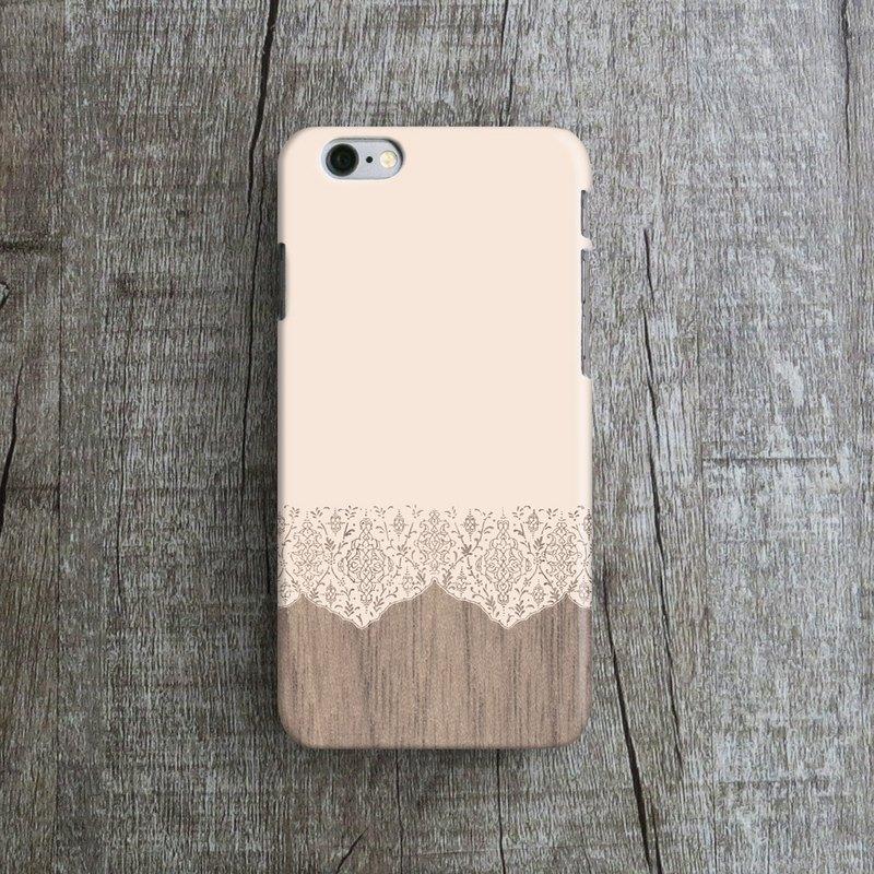OneLittleForest - 原創手機保護殼-  iPhone 7, iPhone 6 , iPhone SE-  蕾絲拼接