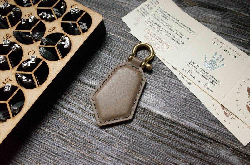 Buttero 悠遊卡晶片吊飾-鑰匙圈款-灰色