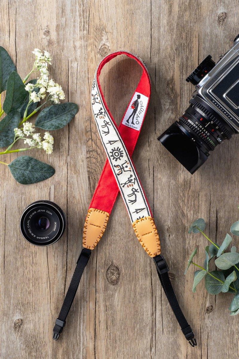 Missbao手創坊 - 布農族象形三用背帶 - 相機手機包包皆可