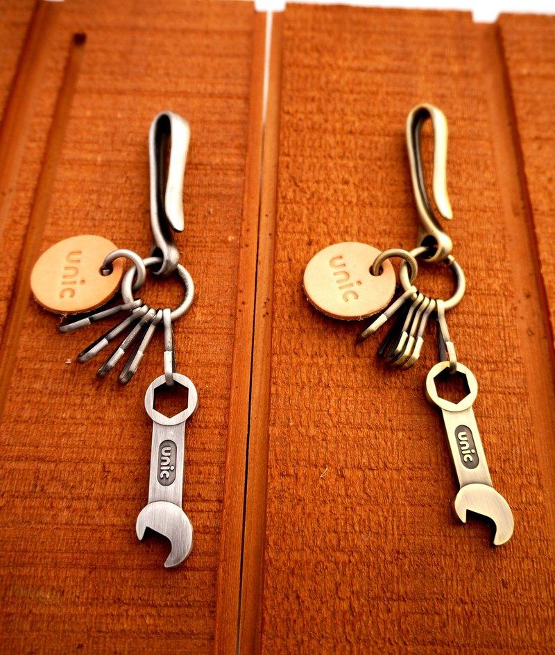 Unic板手造型開瓶器鑰匙圈【可客製化】