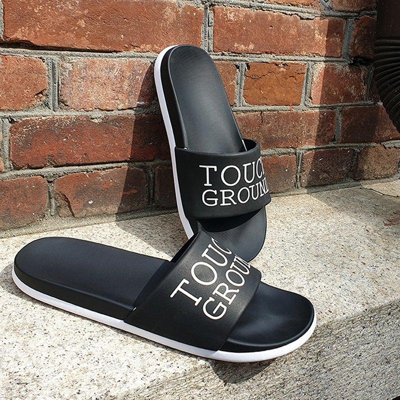TOUCH GROUND 拖鞋 BLACK TGS8F801BK