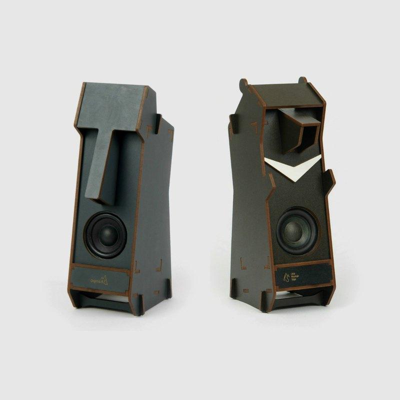 藍芽款 Stereo Puzzle 立體拼圖音響,自己的藍芽音響自己組!
