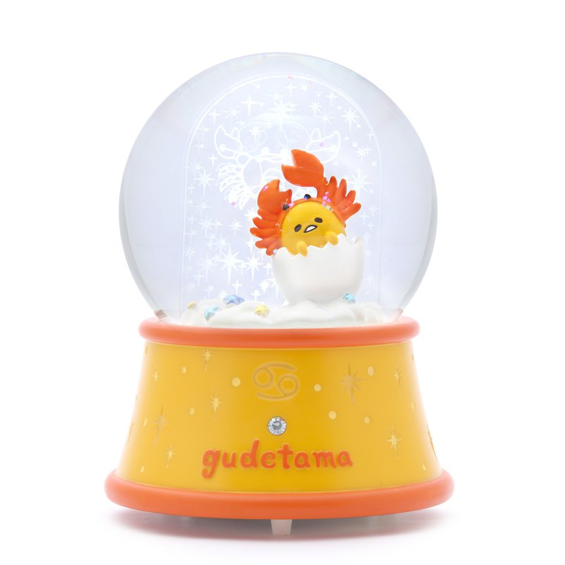 蛋黃哥 巨蟹座 水晶球音樂盒 生日 情人節 彌月禮物