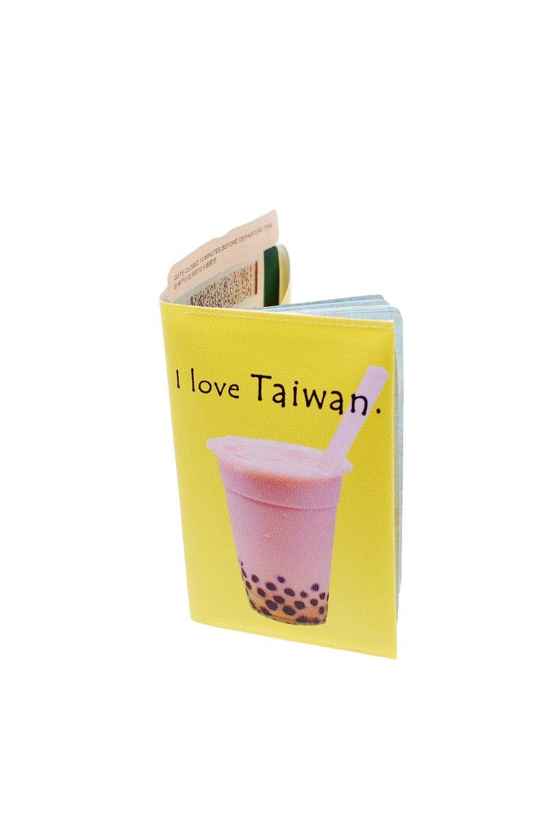 珍奶一杯---台灣系護照套