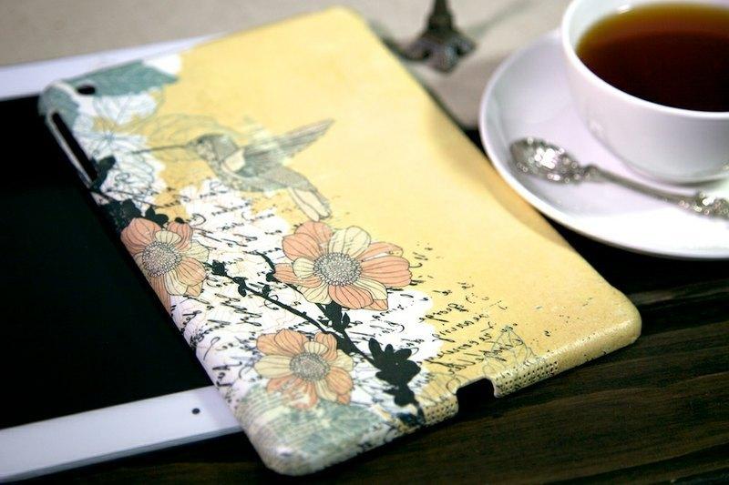 iPad mini外殼:旅行中的蜂鳥