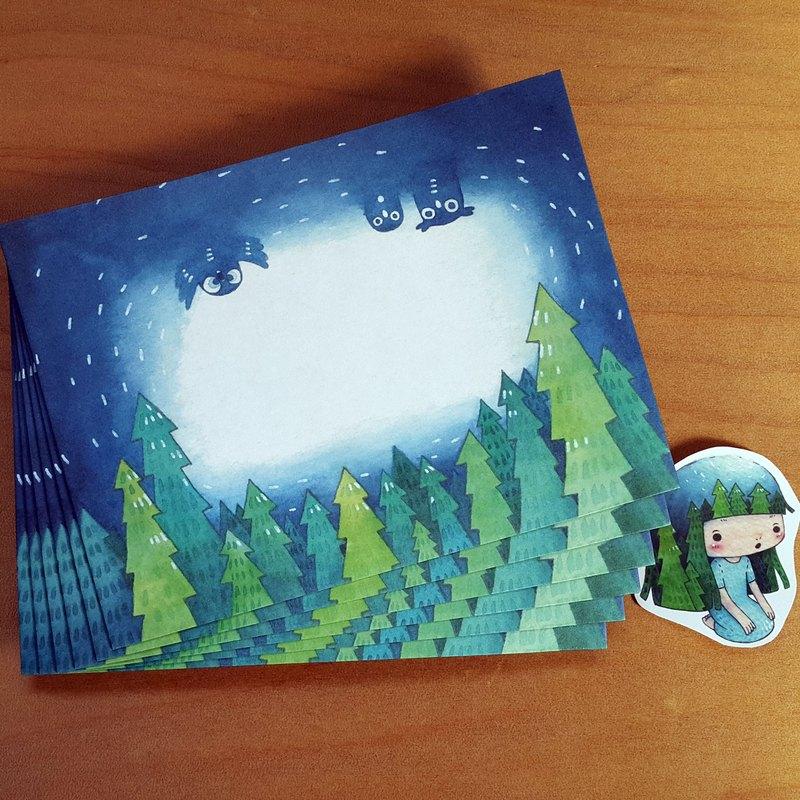 夜空森林-信封