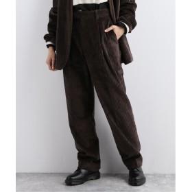 journal standard luxe 【ATON/エイトン】 CORDUROY STRAIGHT PT ブラウン 4
