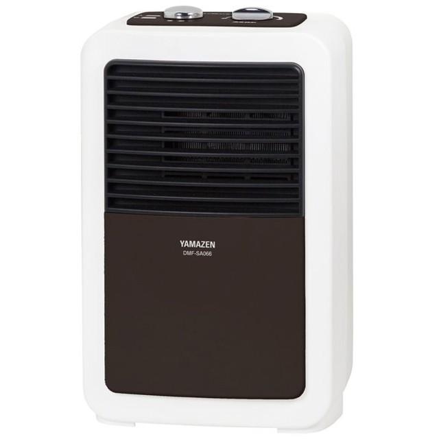 山善 ミニセラミックヒーター(ブラウン) (暖房器具)YAMAZEN DMF-SA066-T 返品種別A