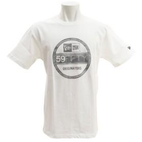ニューエラ(NEW ERA) コットン Tシャツ バイザーステッカー 11556716 (Men's)