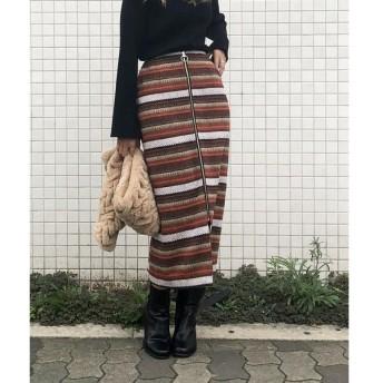 LIPSTAR / リップスター オルテガジャガードタイトスカート