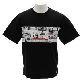 ライズ(RYZ) PHOTO ビックロゴTシャツ 869R8EG2115 BLK (Men's)