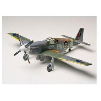 タミヤ(TAMIYA) 1/48 傑作機シリーズ ノースアメリカン RAF マスタングIII (61047)プラモデル