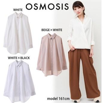 SALE50%OFF OSMOSIS オズモーシス 2WAYバックタックシャツ 782006-886