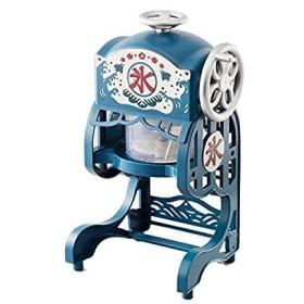 専門店並みの高スペック!ドウシシャ 電動本格ふわふわ氷かき器 かき氷器 ブルー DCSP-1751(DCSP1751)