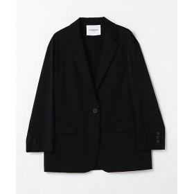 <LAPEREAU yoshie inaba> スーパー120テクノストレッチテーラードジャケット ブラック 【三越・伊勢丹/公式】