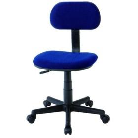 【数量限定特価】弘益(KOEKI) 椅子 スタディーチェア(肘なし) ブルー E-100XS(BL)【代引・日時指定・北海道沖縄離島への配送不可】