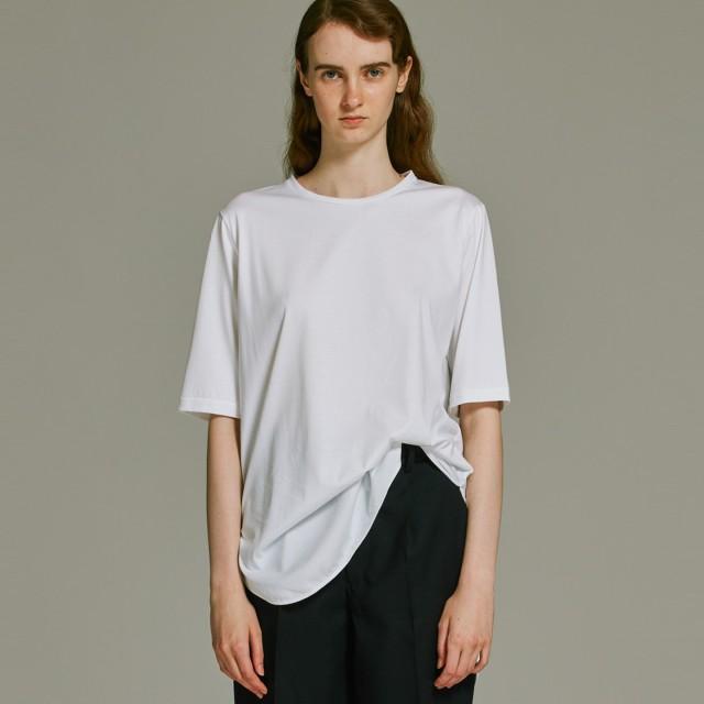 ATON エイトン SUVIN60/2 ラウンドヘムTシャツ