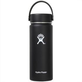 Hydro Flask(ハイドロフラスク) ハイドレイション ワイド マウス(水筒) 18oz 473ml ブラック 5089023