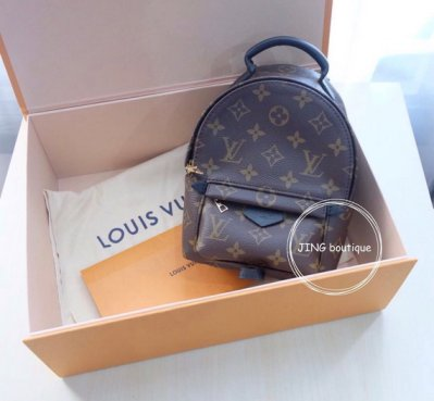 Louis Vuitton LV 全新 現貨 mini Springs backpack 後背包 M41562 北市面交