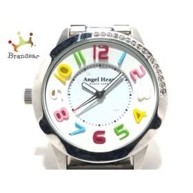 エンジェルハート Angel Heart 腕時計 BK37 レディース 白×マルチ 新着 20191006