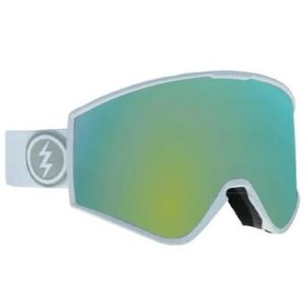 ELECTRIC KLEVELAND マットホワイト 19KMW GGLC ゴーグル スキー スノーボード (Men's)