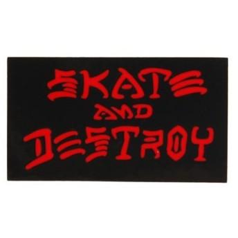 THRASHER ステッカー SKATE&DESTROY SM (Men's、Lady's、Jr)