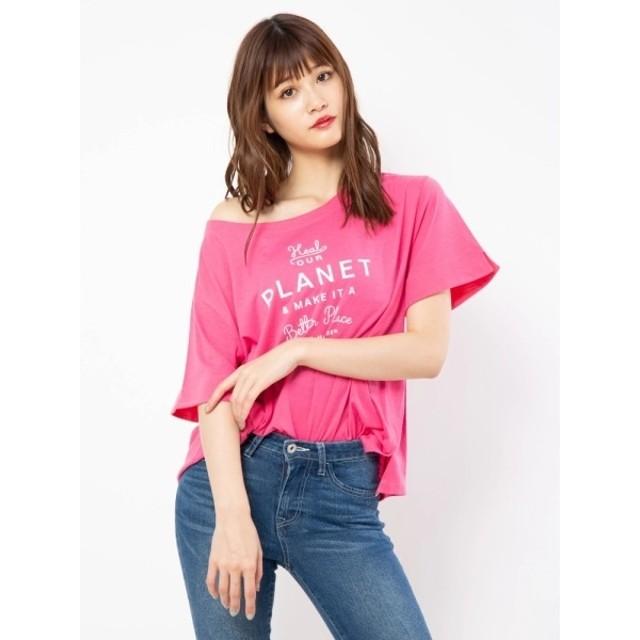 [マルイ]【セール】カラーロゴTシャツ/セシルマクビー(CECIL McBEE)