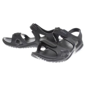 クロックス(crocs) swiftwater river sandal Blk #203965-060 (Men's)