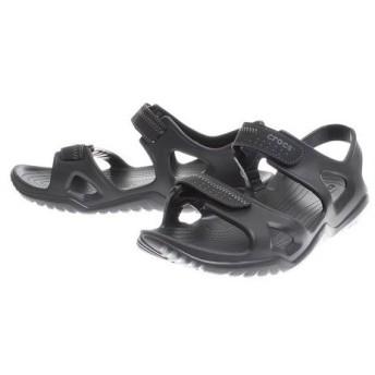 クロックス(crocs) 【オンライン限定特価】swiftwater river sandal Blk #203965-060 (Men's)
