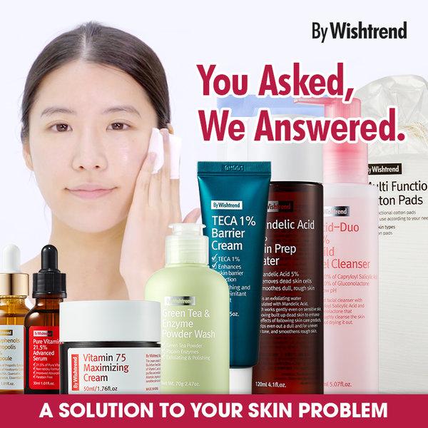 [BY WISHTREND] 基礎護膚品 精選