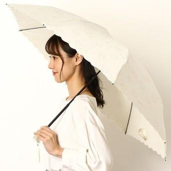 フルラ(雑貨)(FURLA)/雨傘(3段/折りたたみ/ミニ)【8本骨/グラス骨/UV加工】ハート(婦人/レディース)