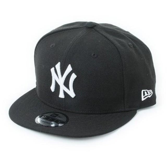 ニューエラ(NEW ERA) 9FIFTY ニューヨーク・ヤンキース ブラックxホワイト 11308471 メンズ 帽子 キャップ (Men's)