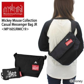 マンハッタン ポーテージ  Mickey Mouse Collection Casual Messenger Bag JR MP1605JRMIC19 メッセンジャーバッグ S  ショルダーバッグ[BB]