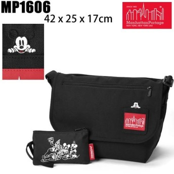 マンハッタンポーテージ リュック MICKEY MOUSE ミッキーマウスCasual Messenger Bag JR MP1606 Manhattan Portage   リュック