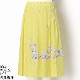 [マルイ]【セール】オリプリ丈長スカート/フランシュリッペ(大きいサイズ)(franche lippee)