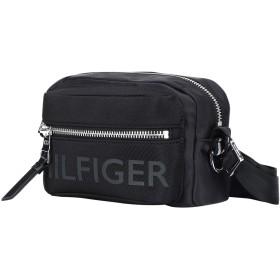 《セール開催中》TOMMY HILFIGER メンズ メッセンジャーバッグ ブラック ナイロン 80% / 合成ゴム(SBR) 13% / ポリエステル 5% / ポリウレタン 2% BOLD NYLON MINI