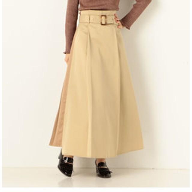 【archives:スカート】A-Backプリーツアシメスカート