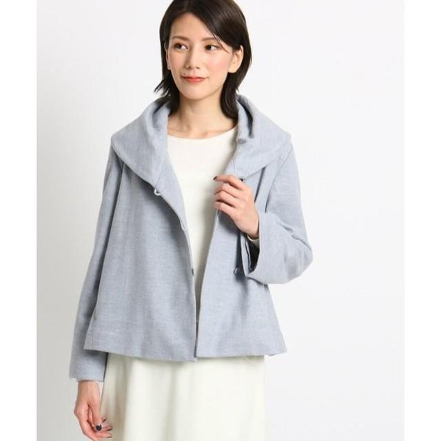 SunaUna / スーナウーナ 【洗える】ボリュームカラーウールジャケット