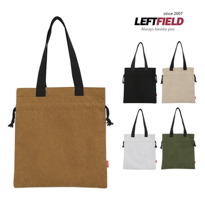 韓國LEFTFIELD絨布手提肩背包 NO.LF765골덴