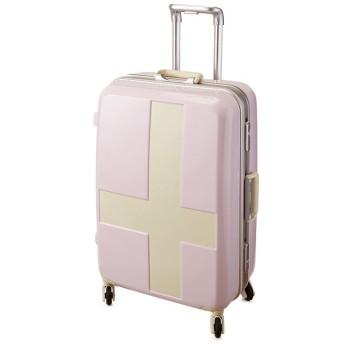 カバンのセレクション イノベーター クロスペイント スーツケース 60L Mサイズ フレームタイプ innovator INV58T ユニセックス アイボリー系1 フリー 【Bag & Luggage SELECTION】