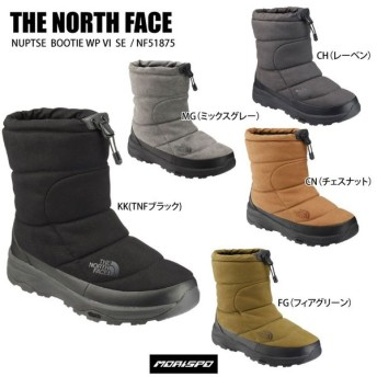 THE NORTH FACE ノースフェイス NF51875 NUPTSE BOOTI NF51875 ヌプシブーティー ウォータープルーフ VI SE スノトレ