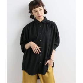 ジャーナルスタンダード painter shirts:シャツ レディース ブラック S 【JOURNAL STANDARD】