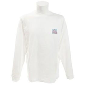 リーフ(REEF) SQUARE2 長袖Tシャツ RF19SP-1007SS-WHI (Men's)