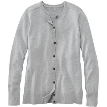 コットン/カシミヤ・セーター、ボタンフロント・カーディガン/Cotton/Cashmere Cardigan, Button-Front